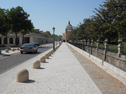 zona monumental aranjuez