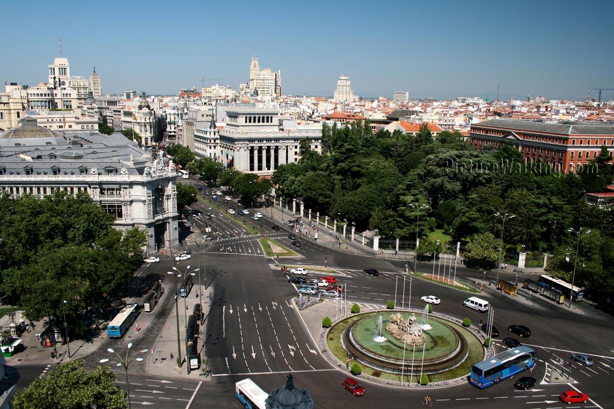 Madrid desde el cielo visita madriz - El cielo de madrid ...