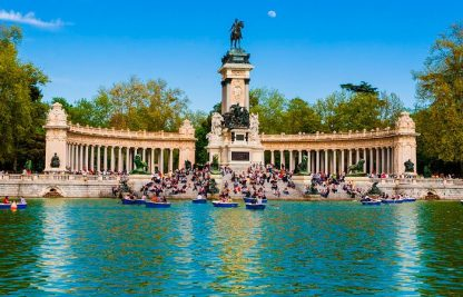 retiro madrid
