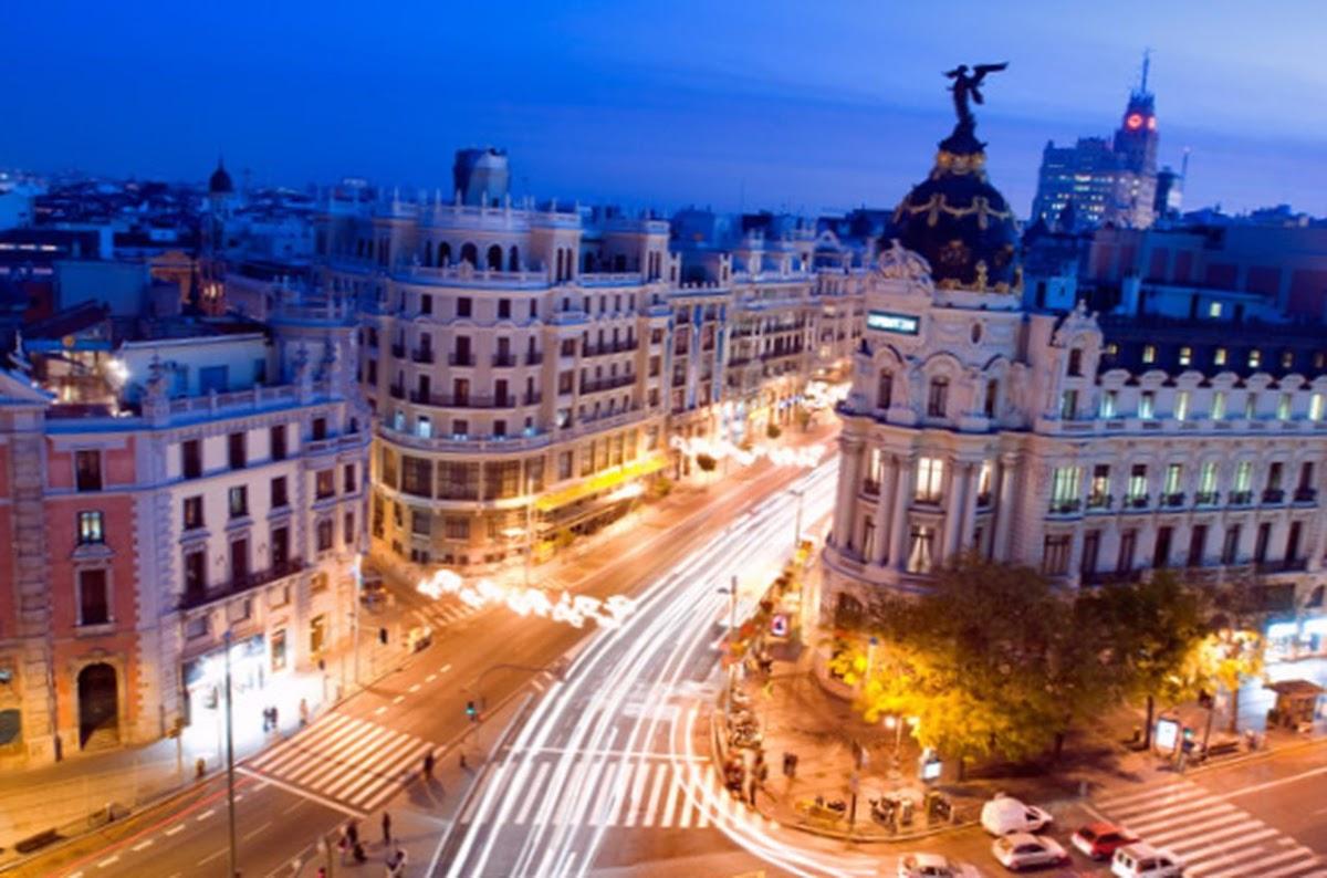 Madrid desde el cielo visita madriz - Terrazas romanticas madrid ...
