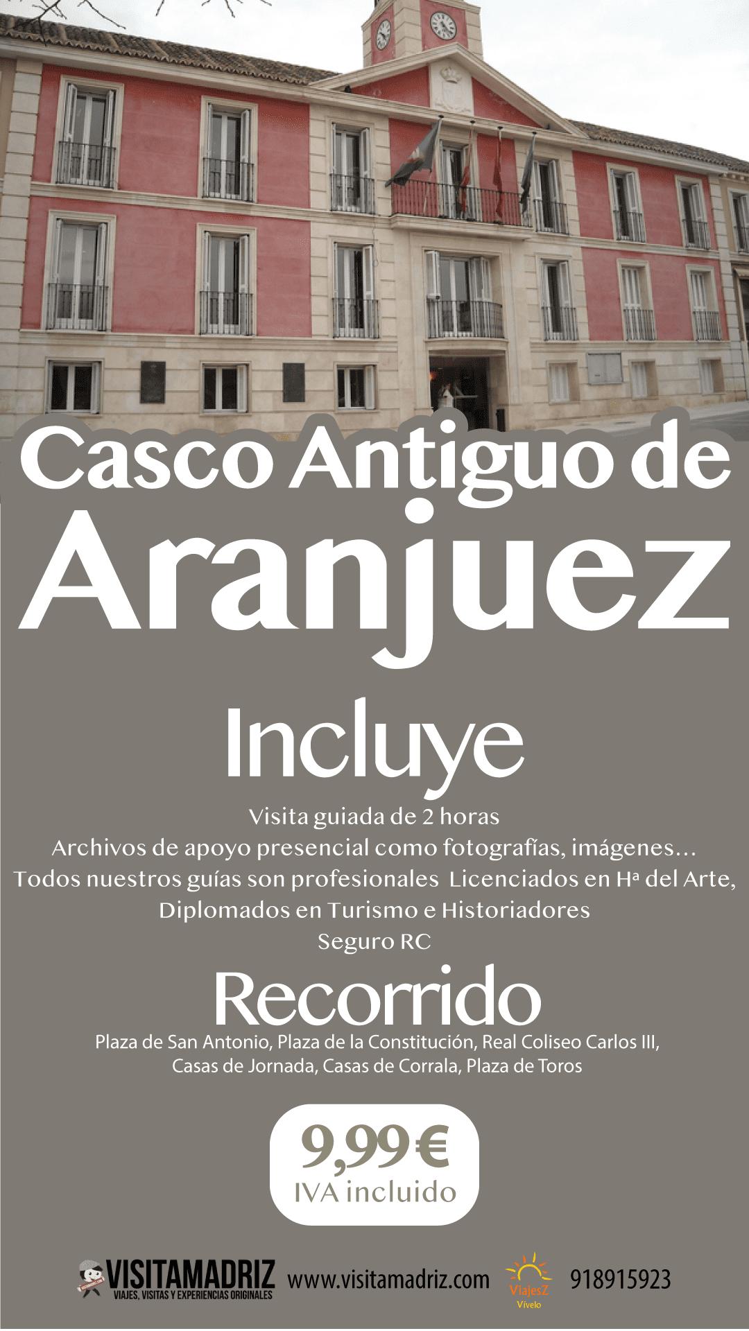 Visita Casco Antiguo Aranjuez