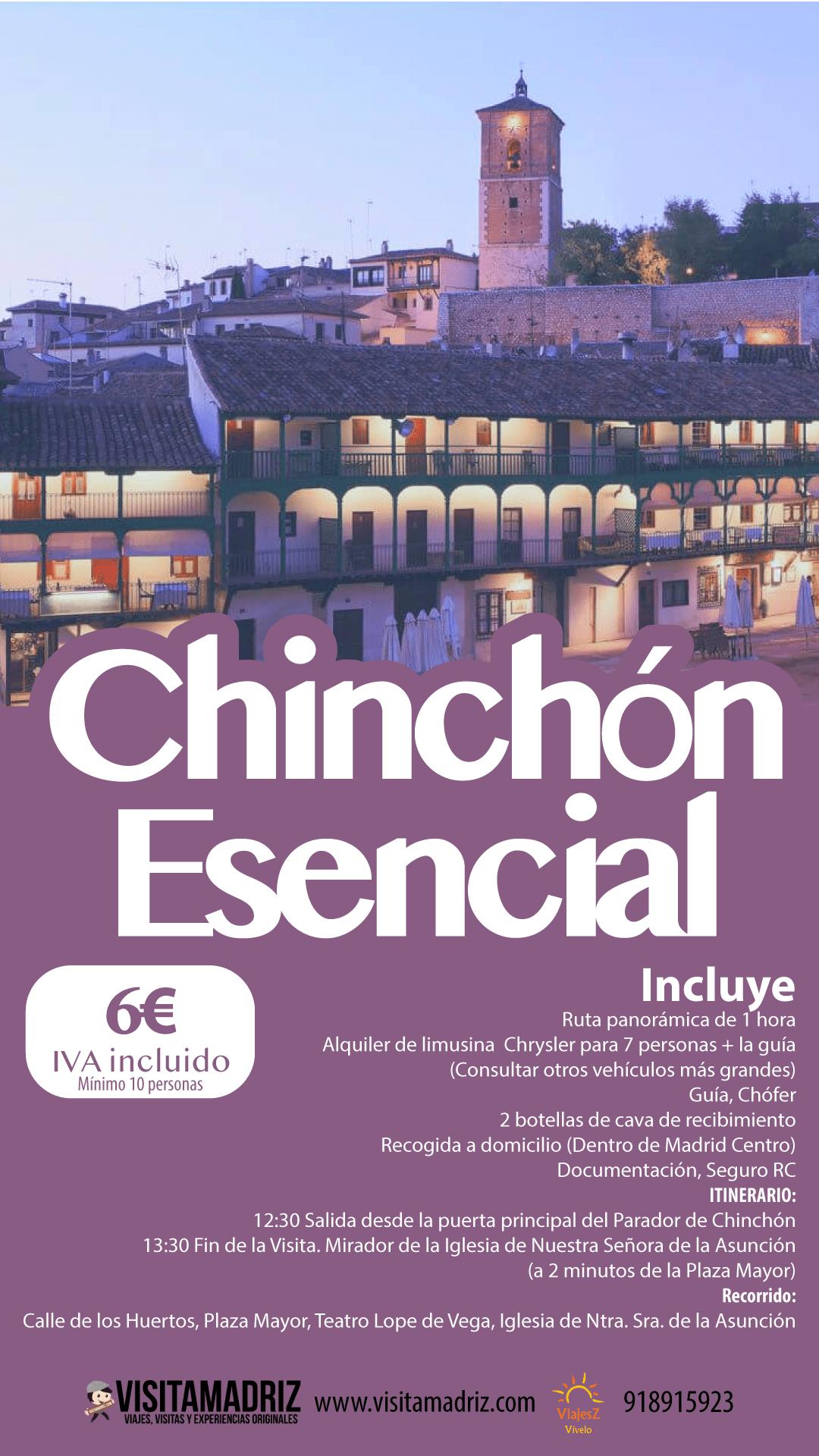 Visita Guiada Chinchón Esencial