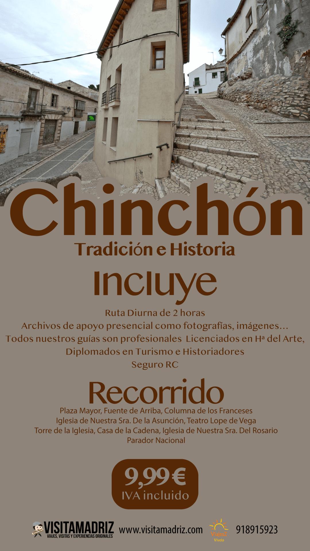 Visita Guiada Chinchón Tradición e Historia