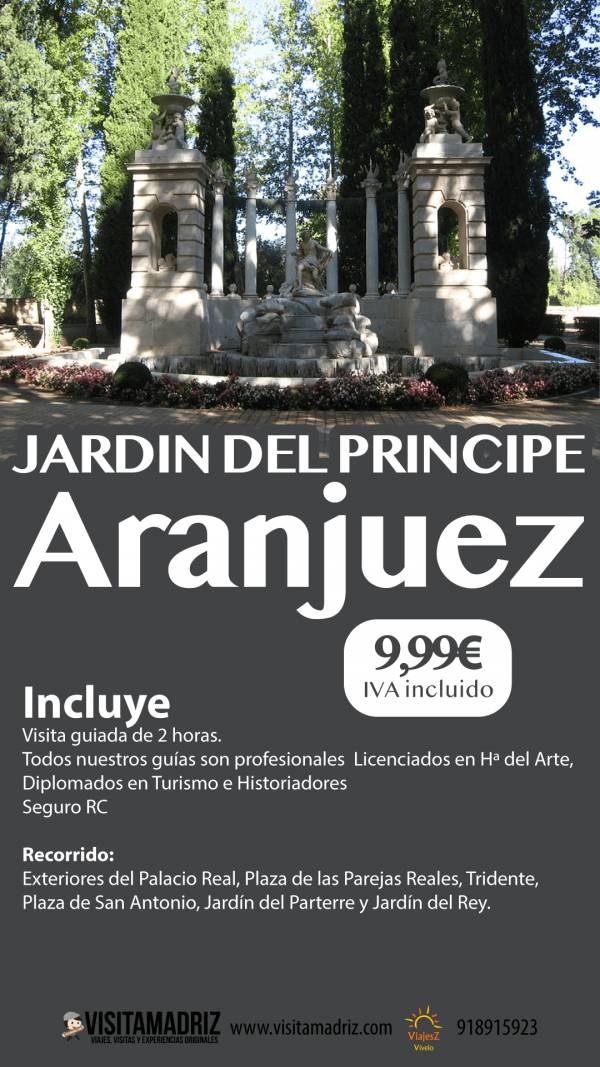 Visita Guiada Jardin del Principe