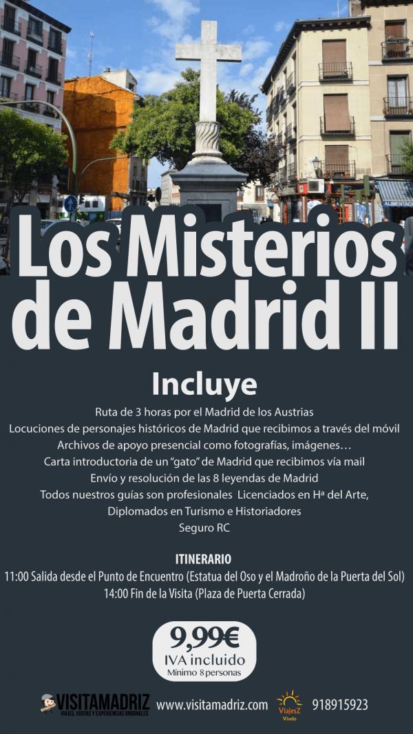 Visita Guiada Los misterios de Madrid II