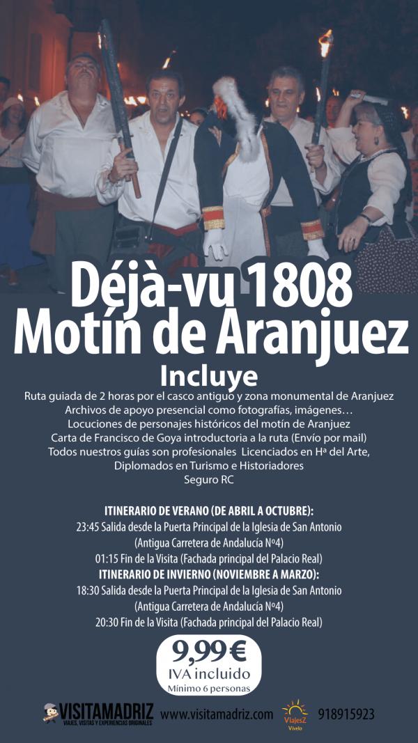 Visita Guiada Motín de Aranjuez