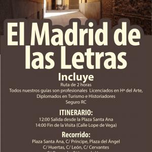 El Madrid de las letras