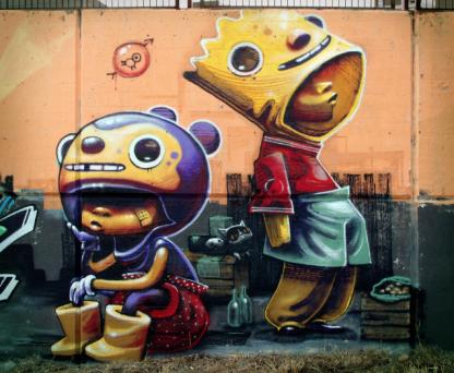street art madrid