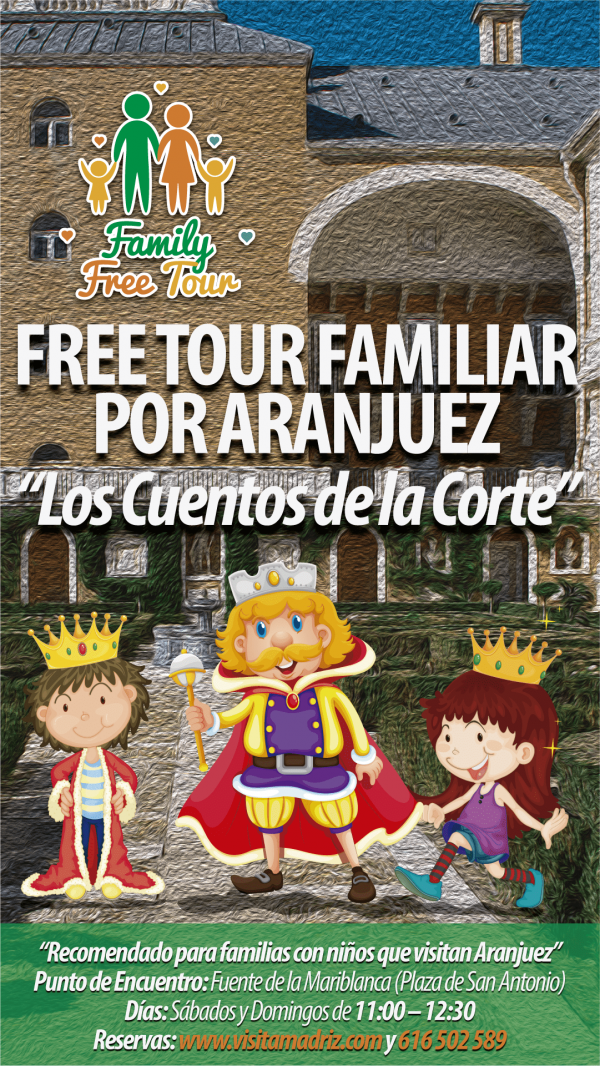 Family Free Tour Aranjuez