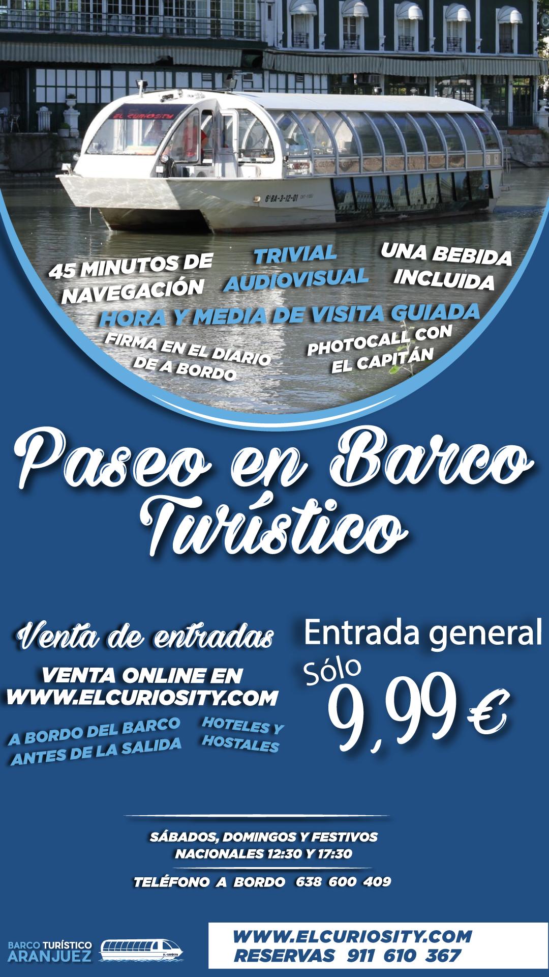 Barco Turístico de Aranjuez