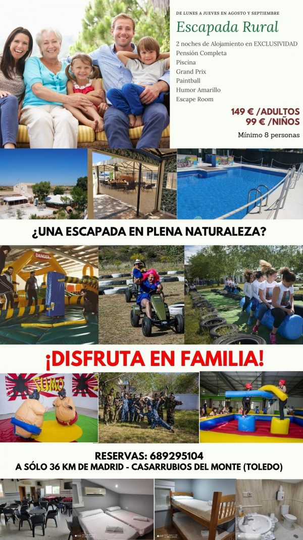 Cartel Turístico Familias Eurofiestas